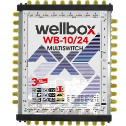 WELLBOX  10X24 MULTİSWİTCH