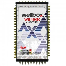 WELLBOX 10X80 MULTİSWİTCH